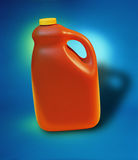 Oj-Flasche Stockfoto