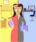 Oj kvinnor! royaltyfri illustrationer