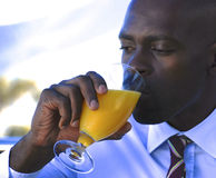 OJ Start to business day Royalty Free Stock Image