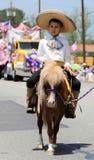 Ojai 4ème du défilé 2010 de juillet Image libre de droits