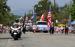 Ojai 4. von Juli-Parade 2010 Stockbild