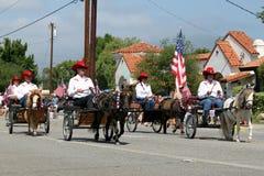 Ojai 4to del desfile 2010 de julio Foto de archivo libre de regalías