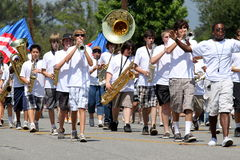 Ojai vierde van de Parade 2010 van Juli Stock Afbeeldingen