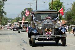 Ojai vierde van de Parade 2010 van Juli Stock Afbeelding