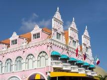 Ojanjestad Aruba -buildings Royalty Free Stock Images