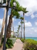 Ojanjestad Aruba a caribbean island in the Dutch Antilles Royalty Free Stock Photo