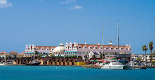 Ojanjestad Aruba a caribbean island in the Dutch Antilles Stock Photos