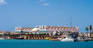 Ojanjestad Aruba a caribbean island in the Dutch Antilles Stock Photos