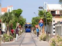 Ojanjestad Aruba = Tram Stock Image