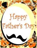 Ojca dnia kartka z pozdrowieniami Zdjęcie Royalty Free