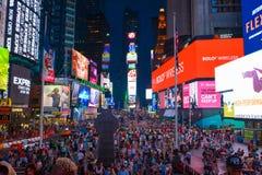 Ojca Duffy kwadrata kwadrat Nowy Jork czasami zdjęcie stock