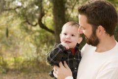 ojca i syna obraz royalty free