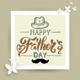 Ojca ` s dnia karta royalty ilustracja