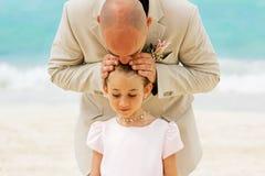 ojciec córkę zdjęcie royalty free