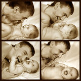 ojciec dziecka Zdjęcie Royalty Free