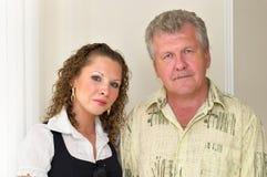 Ojciec i córka Obrazy Stock