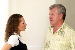 Ojciec i córka Obraz Royalty Free