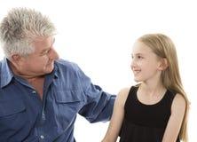 Ojciec i córka zdjęcie royalty free
