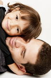 Ojciec i córka Obrazy Royalty Free