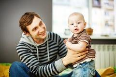 Ojciec i dziecko zdjęcie royalty free