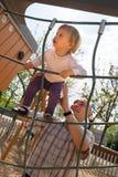 Ojciec i mały córki bawić się zdjęcia royalty free