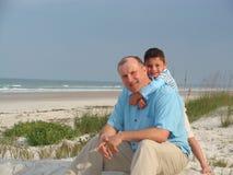 Ojciec i syn Zdjęcie Stock