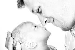 Ojciec i syn Fotografia Royalty Free