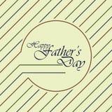 ojciec jest dzień Fotografia Royalty Free