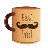 ojciec jest szczęśliwy dzień Zdjęcie Stock