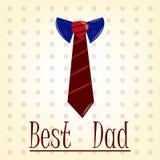 ojciec jest szczęśliwy dzień Zdjęcie Royalty Free