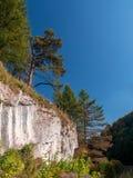Ojcow nationalpark i höst, Polen Arkivbilder