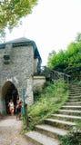 Ojcowie父亲城堡  免版税库存照片