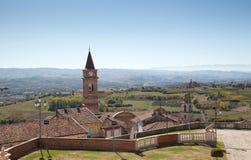 Ojeada de Govone, Piamonte, Italia Fotografía de archivo