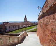Ojeada de Govone, Piamonte, Italia Imagen de archivo libre de regalías