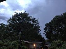 Ojeada en el cielo foto de archivo