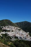 Ojen, Andalusia, Spain. View of the town and surrounding countryside, Ojen, Malaga Province, Andalusia, Spain, Western Europe Stock Photo