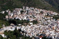 Ojen, Andalusien, Spanien. Stockfotografie
