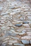 Ojämn trottoar Fotografering för Bildbyråer