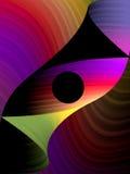Ojo abstracto Foto de archivo libre de regalías