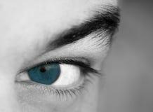 Ojo azul Fotos de archivo