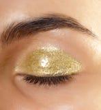 ojo con maquillaje del glamor Imagenes de archivo