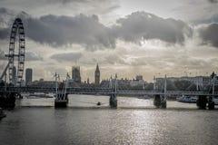Ojo de Ben grande y de Londres Imagenes de archivo