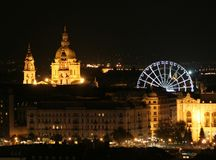 Ojo de Budapest Imagen de archivo libre de regalías