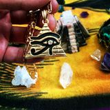 Ojo de Horus Imágenes de archivo libres de regalías