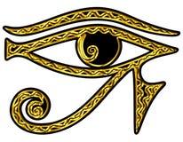 Ojo de Horus - ojo reverso de Thoth