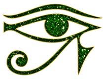 Ojo de Horus - ojo reverso de Thoth ilustración del vector