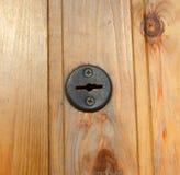 Ojo de la cerradura Foto de archivo libre de regalías