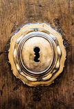 Ojo de la cerradura Imagen de archivo