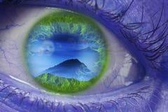 ojo de la fantasía Fotografía de archivo libre de regalías
