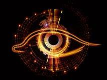 Ojo de la inteligencia artificial Fotografía de archivo libre de regalías